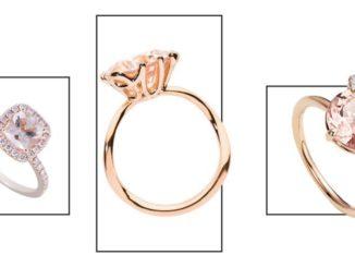 Najpiękniejsze pierścionki zaręczynowe w kolorze różu
