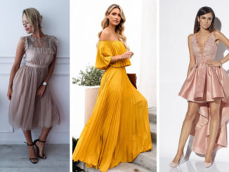 Najmodniejsze sukienki na wesele – trendy 2019
