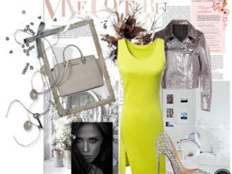 Limonkowe sukienki – z czym łączyć