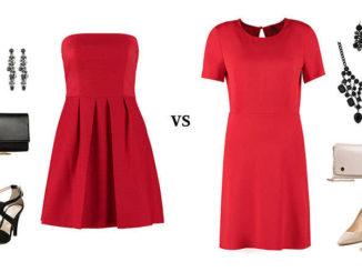Czerwona sukienka – jak dobrać do niej dodatki?