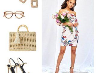 Jakie dodatki wybrać do białej sukienki?