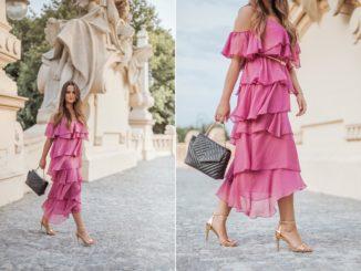 Różowa sukienka – jakie buty będą do niej pasować?