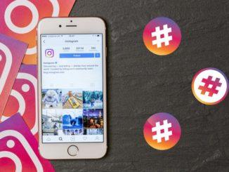 Hashtagi do selfie na Instagramie