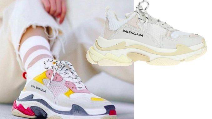 Oryginał balenciaga triple s sneakersy buty sportowe