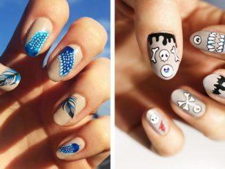Naklejki wodne na paznokcie – piękne wzorki bez malowania