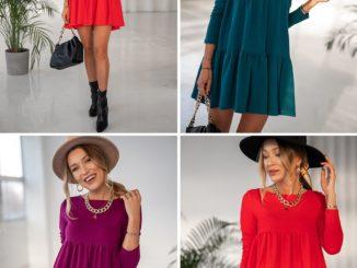 Modne sukienki – trendy na zimę 2020/2021