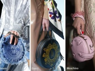 Moje inspiracje: okrągłe torebki