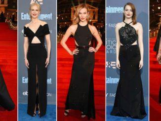 Gwiazdy kochają czarne sukienki