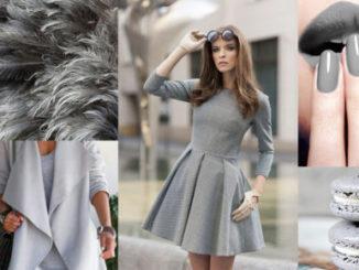 Szara sukienka – jakie dodatki?