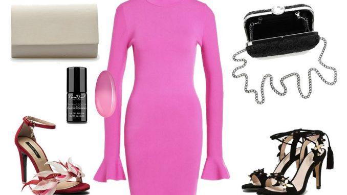 Rozowa Sukienka Dodatki Swiat Kobiety Lifestylowy Blog Modowy