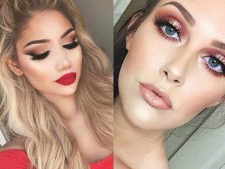 Jaki makijaż pasuje do czerwonej sukienki?