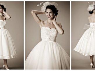 Sukienki ślubne a'la lata 50