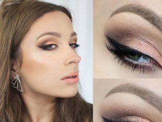 Makijaż do czarnej sukienki – krok po kroku