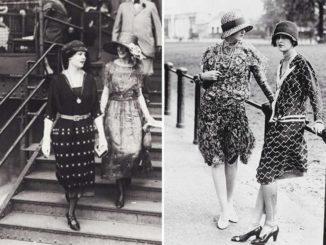 Moda lata 20. Początek modowej rewolucji.