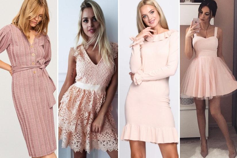 Sukienka Pudrowy Roz Jakie Dodatki Swiat Kobiety Lifestylowy Blog Modowy