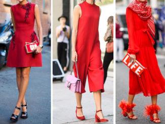 Jakie buty założyć do czerwonej sukienki?