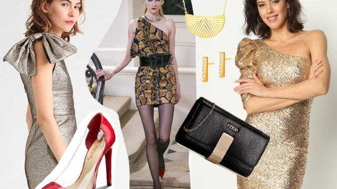 Jak Dobrac Dodatki Do Zlotej Sukienki Swiat Kobiety Lifestylowy Blog Modowy