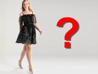 Jakie buty pasują do czarnej sukienki?
