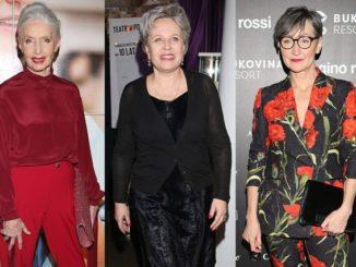 Modna stylizacja dla 60 latki