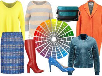 Jakie kolory do siebie pasują? Sprawdź, jak dobierać kolory ubrań.