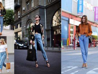 Jak nosić mom jeans?