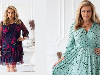 Weselna sukienka dla kobiety w rozmiarze XL