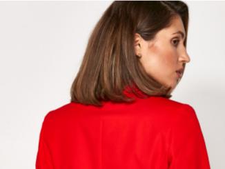 Bawełniany garnitur dla kobiety sukcesu